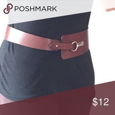 GAP Genuine Leather trendsetter belt Brown leather belt, adjustable three sizes. I wore it on largest size and I wear a size six in clothes. I would guess anywhere between a size two and six would be considered the small. GAP Accessories Belts