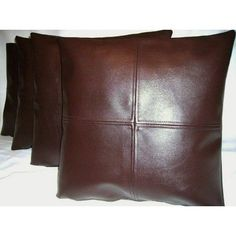 New Genuine Soft Real Lambskin Pure Leather Pillow Cushion Cover Handmade Lambskin Leather, Leather Jacket, Leather Pillow, Cushion Pillow, Leather Working, Decorative Pillows, Pillow Covers, Cushions, Pure Products