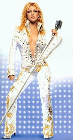 Elvis costume for girls  sc 1 st  Pinterest & Female Elvis Presley Costume u2013 Womens Medium « CostumeRiver.com ...