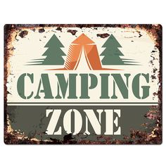 Camping Zone Chic Sign Rustic Vintage Retro Kitchen Restaurant Store Movie Room Bar Pub Coffee Shop Wall Decor 9'x12' Metal Plate Sign Home Store Decor Plaques >>> Read more reviews of the product by visiting the link on the image. (This is an affiliate link and I receive a commission for the sales)