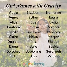 These girl names have serious substance!  #babynames #girlnames #classicnames Strong Girl Names, Cute Girl Names, Baby Girl Names Unique, Beautiful Girl Names, Unique Names, Boy Names, Names Baby, Classic Names, Creative Names