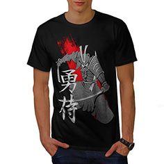Ancient Samurai Art Warrior Men NEW L Tshirt  Wellcoda * Click image for more details.
