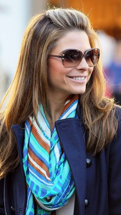 Maria Menounos With a Half-Up Slightly Puffed Style