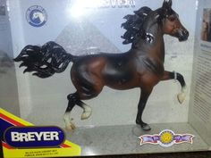 RETIRED HUCKLEBERRY BEY BREYER HORSE #472  NIB ARABIAN LEGEND STALLION