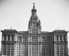 Then: Manhattan Municipal Building (1924)