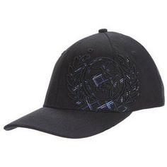 64b8208431d Cinch Hat Mens Baseball Cap Flat Bill Black MCC0021003 Hat for the Guys.