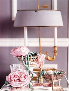 Simple flowers on a bedside table does wonders. #onekingslane  #designisneverdone