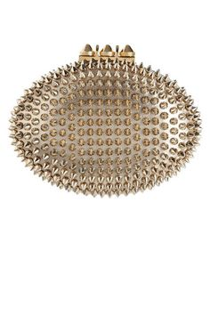 14 head-turning gold clutches for holiday parties and beyond: Christian Louboutin