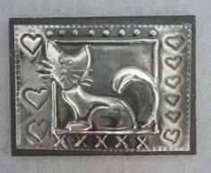 """Other Kitchen - """"One of a kind"""" CAT - Fridge Magnet - Handcrafted Pewter Art by Hanli for sale in Jeffreys Bay (ID:161143703)"""