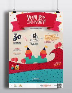 Vem Ler Comigo, Vem?! on Behance