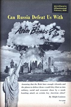 """""""Can Russia Defeat Us With Atom Bombs?"""", 1950"""