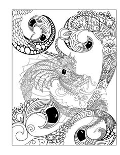 Coloring Book - 4th Edition | Phil Lewis Art