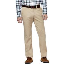 Men's Haggar Slim-Fit Sustainable Twill Chino Pants, Size: 30X32, Beige Oth