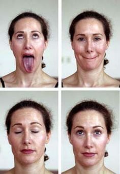 Facial Exercises to firm up your skin and mussels in your face, its like exercising your body, combined with a good skincare you can take years off your face. Yoga Facial, Facial Massage, Face Yoga Exercises, Stretches, Diy Beauty Secrets, Beauty Tricks, Double Chin Exercises, Hip Problems, Flat Belly Workout