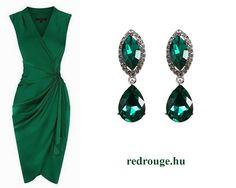 Zöld színű fülbevaló / green earings