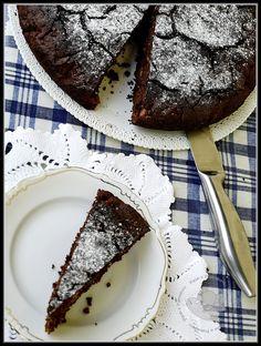 Torta cioccopere di Marco Bianchi My Favorite Food, Favorite Recipes, Sweet Corner, Plum Cake, Vegan Cake, Love Cake, Chocolate Recipes, Sweet Tooth, Food Porn