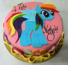 tort kucyk pony, little pony cake