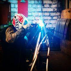 Media by aganzacyclingArt in progress // Arte en proceso. #createarts #custombike #ciclocro...