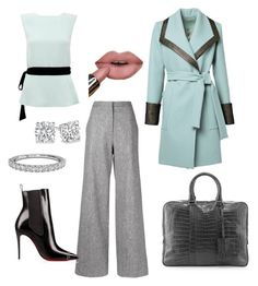 Office star by sara-willow-roulston on Polyvore featuring polyvore, fashion, style, Raoul, ADAM, Santiago Gonzalez and Ritani