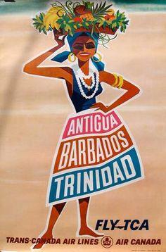 Air Canada  Antigua-Barbados-Trinidad