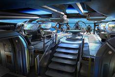 spaceship cockpit interior - Google Search