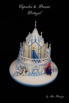 FROZEN... - Cake by Ana Remígio - CUPCAKES & DREAMS Portugal