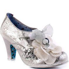 Irregular Choice   Milk Mint - Silver - hopefully my wedding shoes!