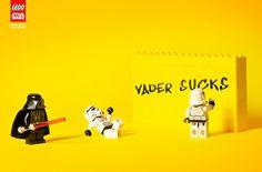 Creatività&Ironia... #Lego #StarWars