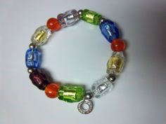 Antica Murrina 925 Silver Bracelet w Murano Glass Beads made in Italy 30g #AnticaMurrina #Beaded