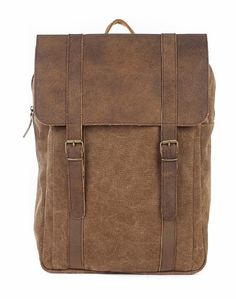 Burban big backpack with laptop compartment Handmade in Greece www.travellerstore.eu