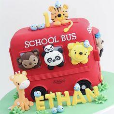 ❤ Ethan's 1st wheel on the bus birthday ❤ #apocketfullofsweetness