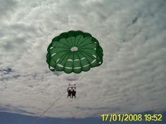Nachi Cocom Beach Club & Water Sport Center: parasailing