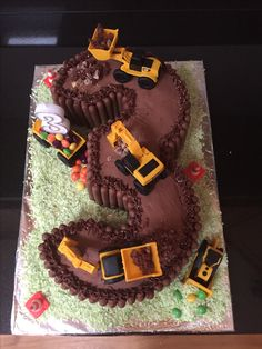 Digger Cake Birthday Parties Party