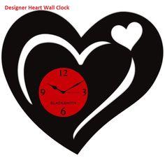 Beautiful Upcycled Vinyl Records Wall Clock