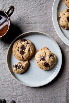 Peanut butter chocolate chip cookies - Flourishing Foodie