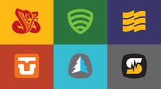 Bigger logos by Draplin