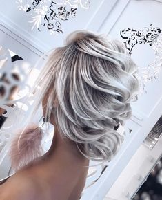 Multiple Messy Layers - 40 Bold and Beautiful Short Spiky Haircuts for Women - The Trending Hairstyle Best Wedding Hairstyles, Bride Hairstyles, Hairstyles With Bangs, Weave Hairstyles, Cool Hairstyles, Bridesmaid Hair, Prom Hair, Peinado Updo, Looks Chic