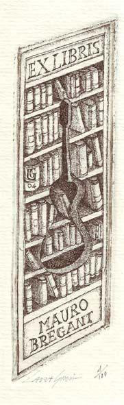 ex libris - Mauro Bregnant 2004