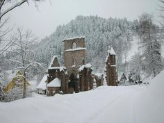 """Another """"hidden"""" monastry from the Black Forest: All Saints, built in 1192 (more in comments)"""