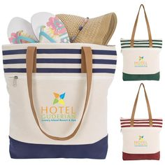 Shop the top selling beach tote. Choose from a selection custom and promtoional beach bags imprinted stylish, folding, canvas, waterproof or non woven material Boat Bag, Custom Tote Bags, Quality Logo Products, Beach Tote Bags, Printed Tote Bags, Canvas Material, Leather Handle, Bag Making, Diaper Bag