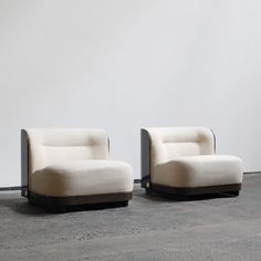 Set of 2 Trinom lounge chairs from the sixties by Peter Maly for COR Sitzcomfort