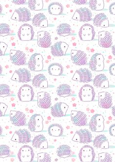 Little hedgies enjoying spring and blossoms phone backgrounds, cute backgrounds, cute wallpapers, spring Wallpaper Kawaii, Cute Wallpaper For Phone, Iphone Wallpapers, Cute Wallpapers, Cute Backgrounds, Wallpaper Backgrounds, Phone Backgrounds, Spring Backgrounds, Pattern Art