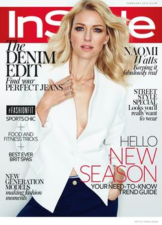 #NaomiWatts #InStyle