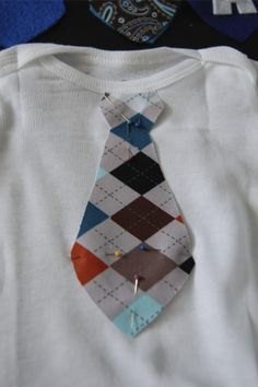 Get Your Stitch On!: Baby boy sewing!!!!! Little man tie onsies!!! Perfect for church!I love these!