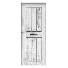 Oude witte deur stickers om een saaie deur op te pimpen. Gedrukt op mat stickermateriaal, ook afwijkende maten mogelijk. GOEDKOOP DE LEUKSTE DEURSTICKERS