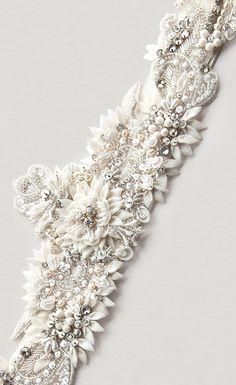 Lola Lux Rhinestone Sash- crystal sash, rhinestone sash, wedding sash, bridal belt. $498.00, via Etsy.