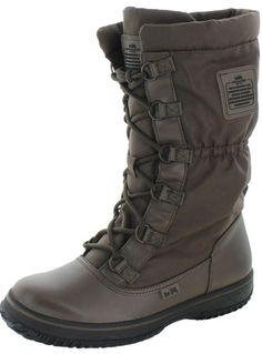 Coach Sage Women's Nylon Cold Weather Hiking Snow Boots  All I can say is ..... WTF x 2 (what and why the f**k) would Anyone one buy Coach Hiking boots????? Who has to look stylish on the trail???? SO DUMB!