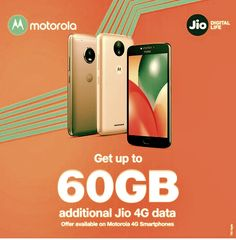 Motorola and Reliance jio offer