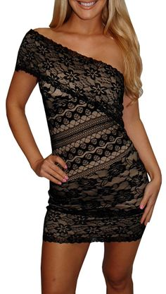 Black Tan Floral Lace Dress 287943423 Social Dress Shop Women