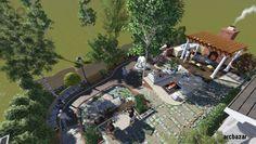 #Backyard winning design idea by A+bd_architects Check out arcbazar.com for more #landscape designs!